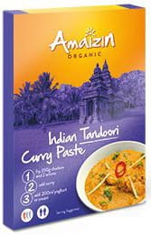 Pasta curry Indian Tandoori BIO 80g